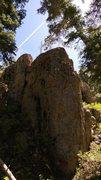 Rock Climbing Photo: Creole Crag - Main Face
