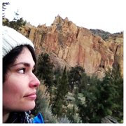 Rock Climbing Photo: from the Phoenix Wall at Smith Rock