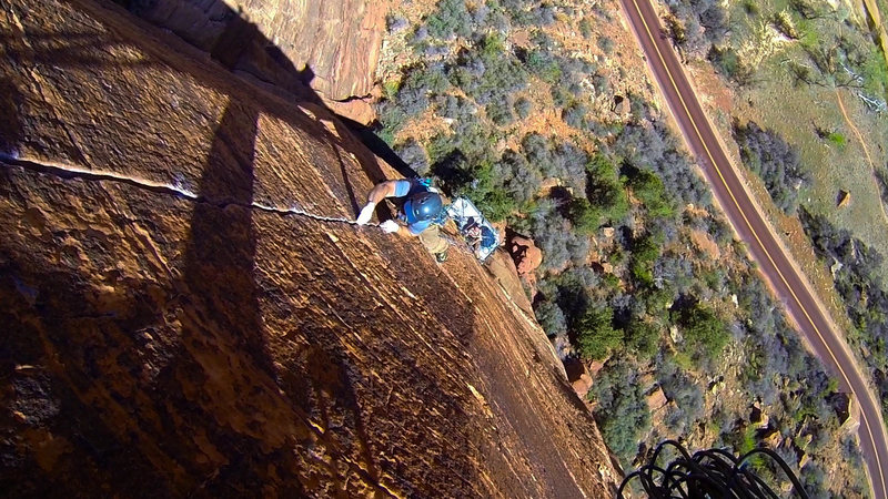 Why the portaledge? Well, let's just say we like to hang out.