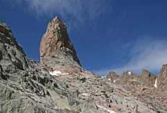 Rock Climbing Photo: Thor tower's East side.