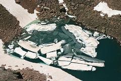 Rock Climbing Photo: The spectacular lake below Thor Tower.
