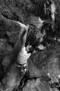 Rock Climbing Photo: Keith Nadeau, action hero...