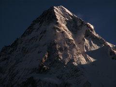 Rock Climbing Photo: K2 summit