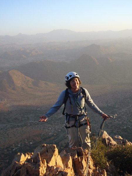 Summit! Tete de Leon, Tafraoute, Maroc