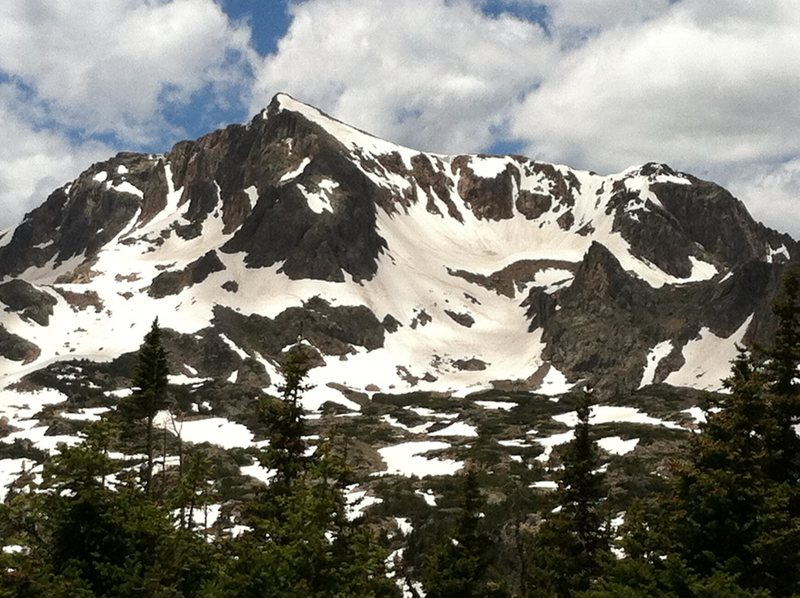 Rock Climbing Photo: IPW, 6/25.
