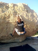 Rock Climbing Photo: Starting Position for Bee Bop