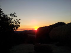 Rock Climbing Photo: Sunset from Daley Ranch