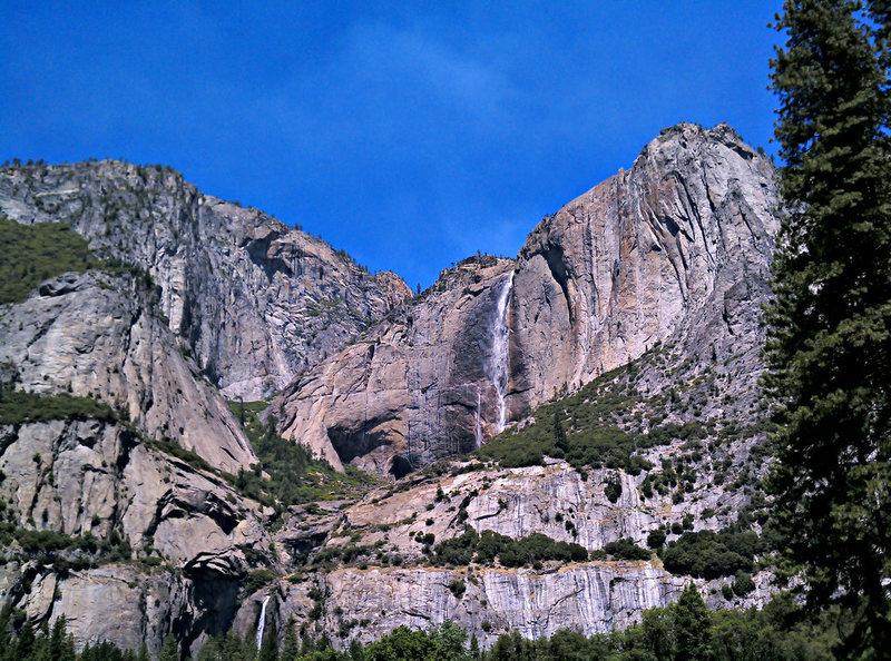 Yosemite Falls Area
