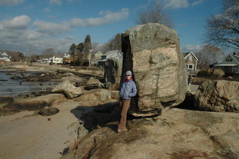 Rock Climbing Photo: Sheryl and the boudler