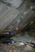 Rock Climbing Photo: Mike Galoob on Arcangle