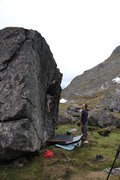 Rock Climbing Photo: Elijah Helgeson on Dr. Horrible.