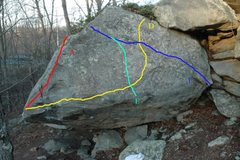 Rock Climbing Photo: Speedball Face