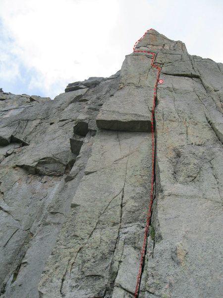Rock Climbing Photo: P1 (photo from Chris Sheridan).