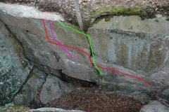 Rock Climbing Photo: Broken Sword Wall