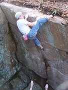 Rock Climbing Photo: Shylo topping it out...