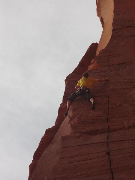 Such a good climb.