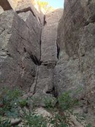 Rock Climbing Photo: Are You Experienced is the crack on the right, in ...