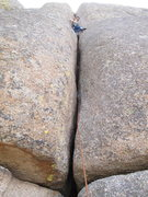 Rock Climbing Photo: Hardest 5.7.