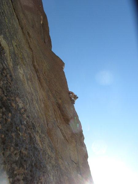 Rock Climbing Photo: Moons of pluto.