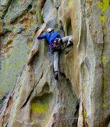 Rock Climbing Photo: Thin Slice, City of Rocks