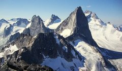 Rock Climbing Photo: Zowie! The central Bugs as seen from the summit of...