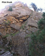 Rock Climbing Photo: Lower Tier of Pilot Knob from the nice little area...