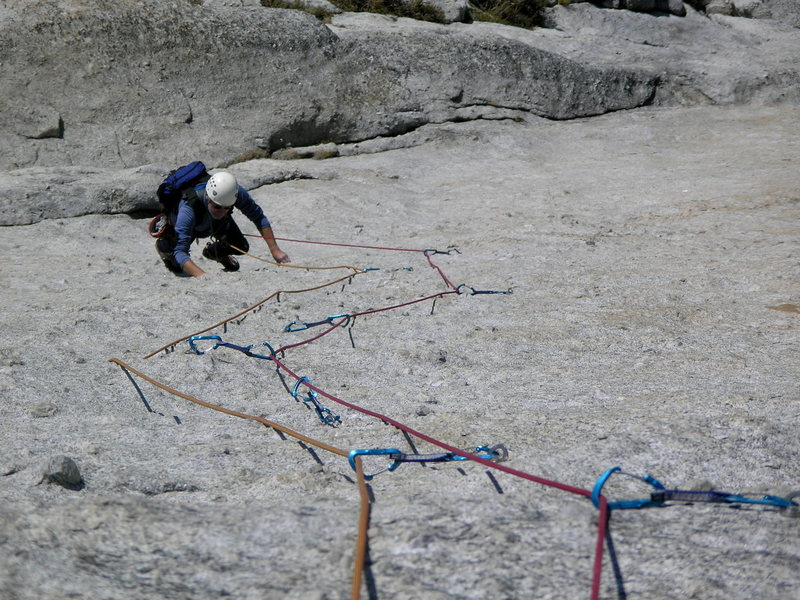 Rob Andrews following the main pitch of Shagadelic. Photo by Martin Bennett