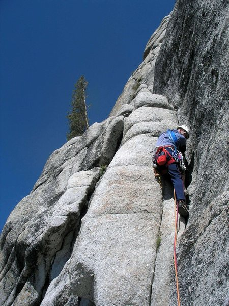 Rob Andrews on pitch 1 of Shagadelic, September 2006