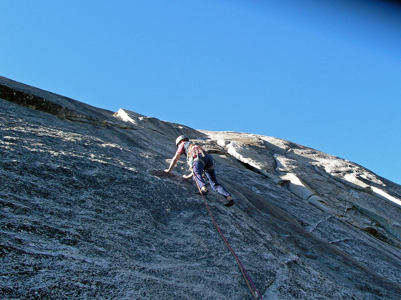 Dave Cundy on South Crack in Sept 2006