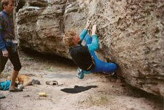 Rock Climbing Photo: Rich Bechlar looking mean and lean!