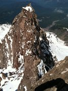 Rock Climbing Photo: Part of the summit ridge