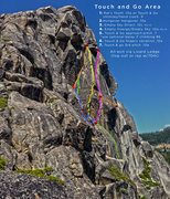Rock Climbing Photo: Loads of options in this area, even more than list...