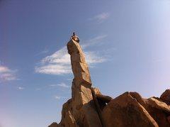 Rock Climbing Photo: With Nate Bastar on a way too hot June morning! Ha...