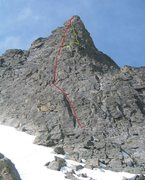 Rock Climbing Photo: Northeast Ridge var?