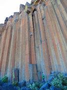 Rock Climbing Photo: Chuck Becker on JR Token