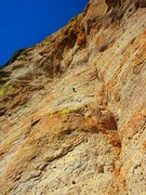 Rock Climbing Photo: fixed gear on P2