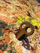 Rock Climbing Photo: nice stack on P2