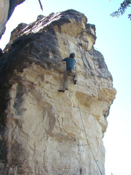 Jerry on Sweet, 5.12a