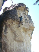 Rock Climbing Photo: Jerry on Sweet, 5.12a