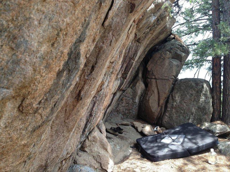 Rock Climbing Photo: Energy Crag.