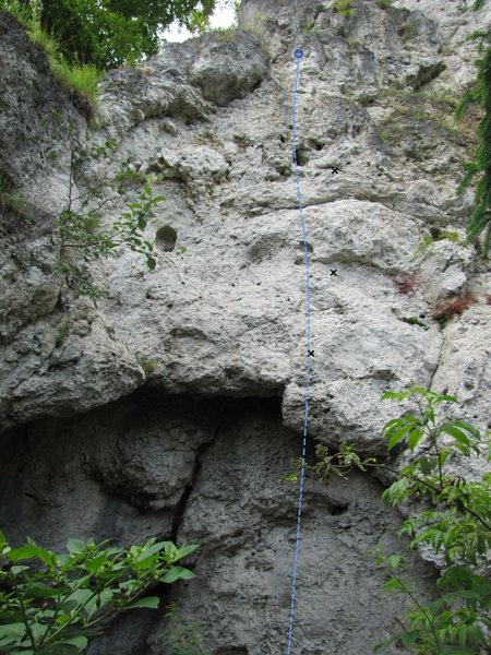 Rock Climbing Photo: Höhlenweg