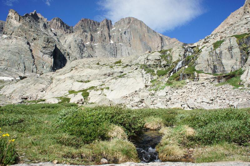 Rock Climbing Photo: Longs Peak - June 30, 2013