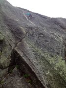 Rock Climbing Photo: Adrienne Kentner on Zulu Warrior 5.10