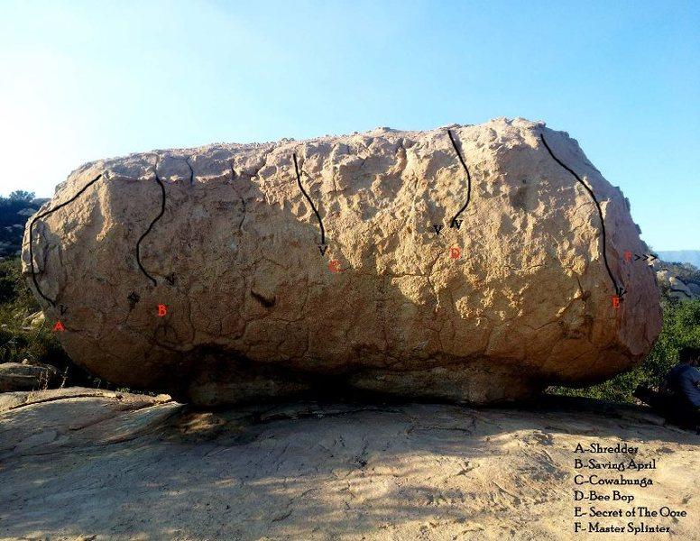 Rock Climbing Photo: Boulder Map