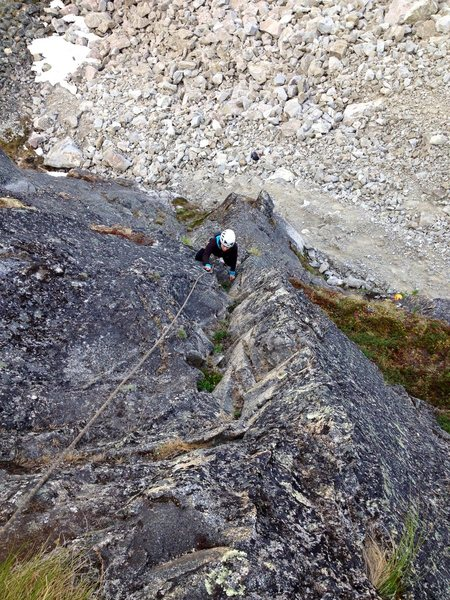 Adrienne Kentner following P2 of Ruby Shoes 5.7
