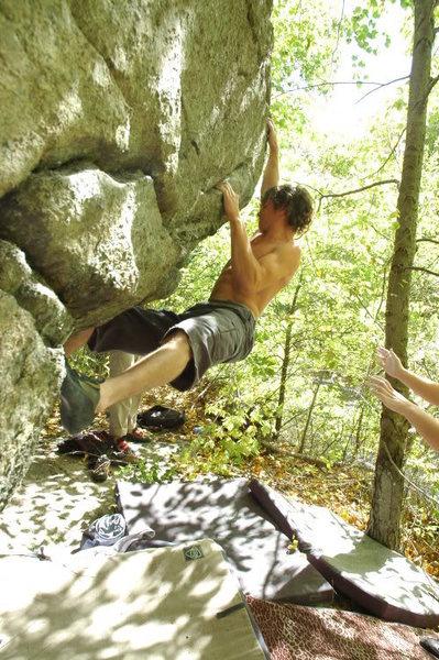 Rock Climbing Photo: Brad Maurice on El Mar
