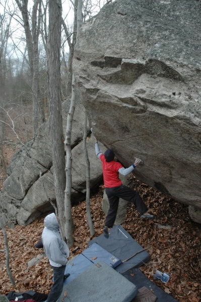 "Dan Yagmin on 2nd Ascent of ""Ghost Face Low"""