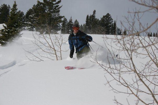 Skiing the Utah backcountry