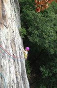 Rock Climbing Photo: Melissa enjoying p1