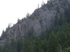 Rock Climbing Photo: The Bookstore from the Kettle River